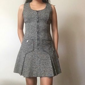 Vintage Tweed Mini Dress